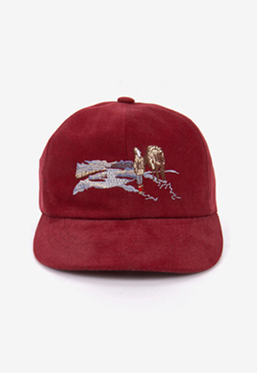Blanc Soir블랑스와르 Nomad Washing Cap Burgundy