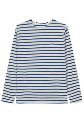 Blanc Soir블랑스와르 Swimming Border T-shirt