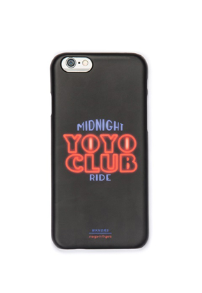 Margarin Fingers마가린핑거스 YOYO CLUB Iphone Case Black