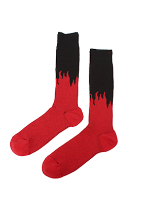 Drink Beer Save Water드링크비어세이브워터 Flame Socks (2 Color)