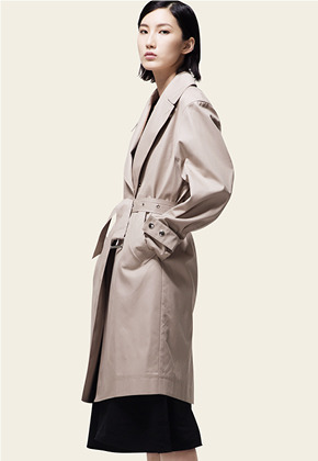 Trwa트와 TRENCH COAT(BEIGE)