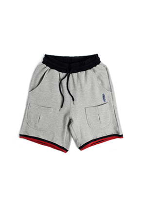 Romantic Crown로맨틱크라운 Sweat Banding Shorts_Grey