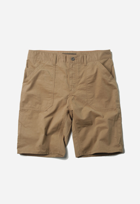 FRIZMWORKS프리즘웍스 Fluffy Fatigue Short Beige