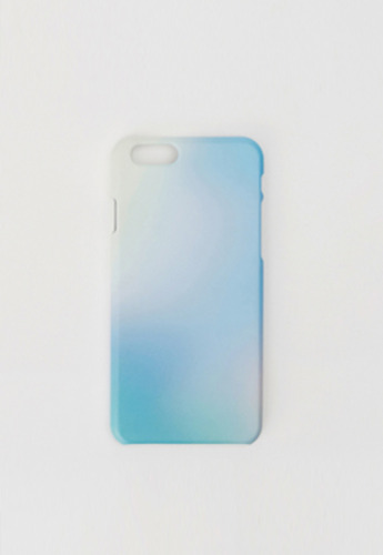 MeetMetMeet밋맷밋 Afterimage phone case blue