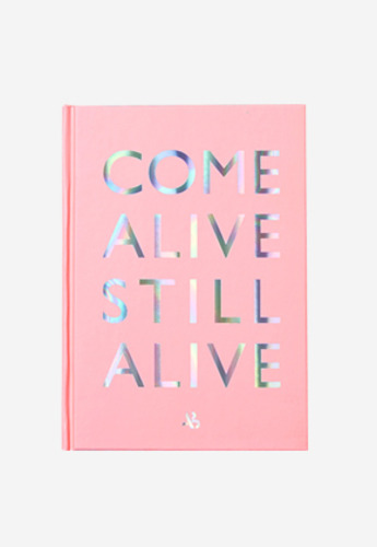 Anderssonbell앤더슨벨 COME ALIVE STILL ALIVE Note aaa051u Pink