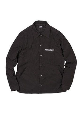 SANDPIPER샌드파이퍼 RIDEFREE COACH JACKET BLACK