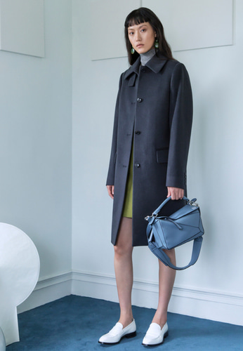 Trwa트와 CASHMERE COAT(DEEP GRAY)