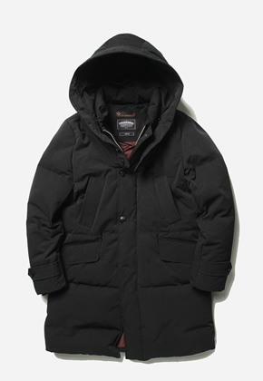 FRIZMWORKS프리즘웍스 Transform long down parka _ black