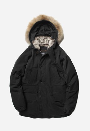 FRIZMWORKS프리즘웍스 Heavy frost down parka _ black