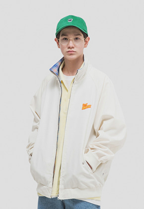 WKNDRS위캔더스 CITY BREAK BLOUSON (IVORY)