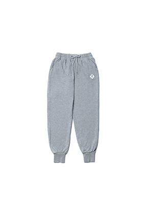 Realization리얼라이제이션 Diamond Logo Jogger Pants[GRAY]