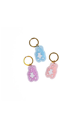 A Piece Of Cake어피스오브케이크 Grape Gummy Key Ring