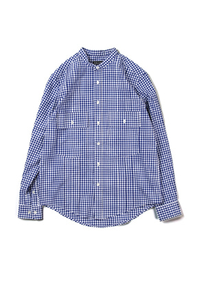 Ballute발루트 TUXEDO 2 POCKET SHIRT (GINGHAM CHECK)
