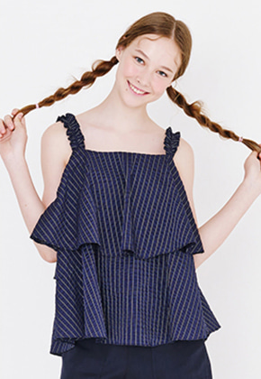Margarin Fingers마가린핑거스 TIERED FLARE TOP