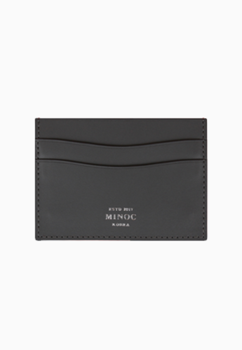 Minoc미녹 Small Card Wallet (그레이)