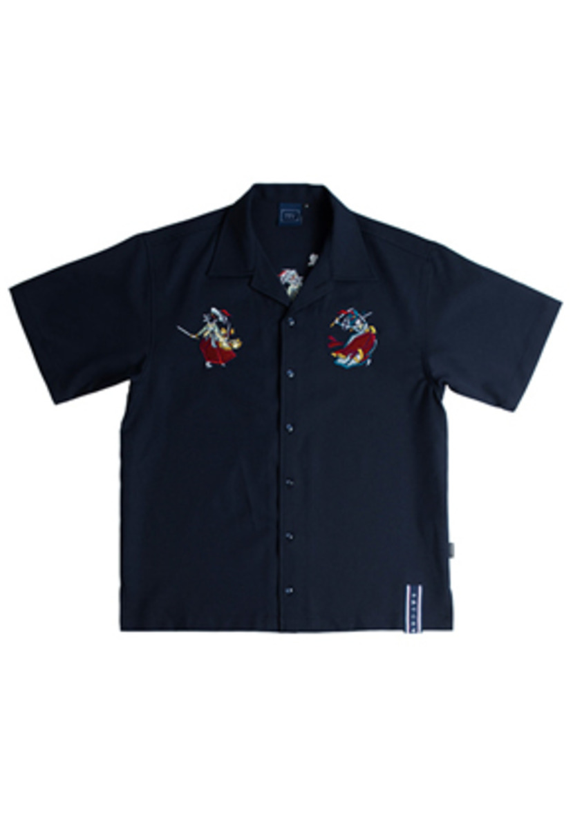 Romantic Crown로맨틱크라운 쌍검대무 Souvenir Shirts_Navy