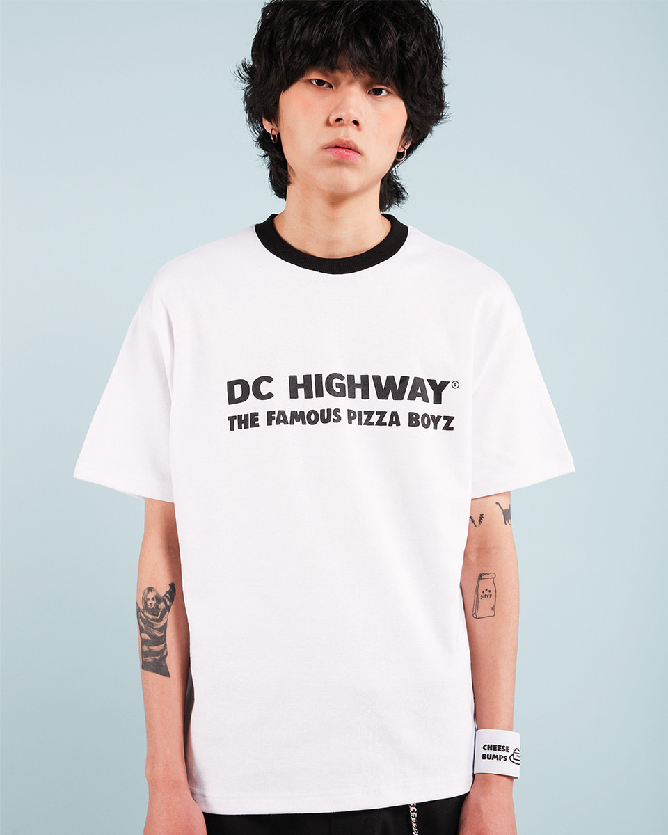 Pepperseasoning페퍼시즈닝 DC BOYZ T-SHIRT / WHITE