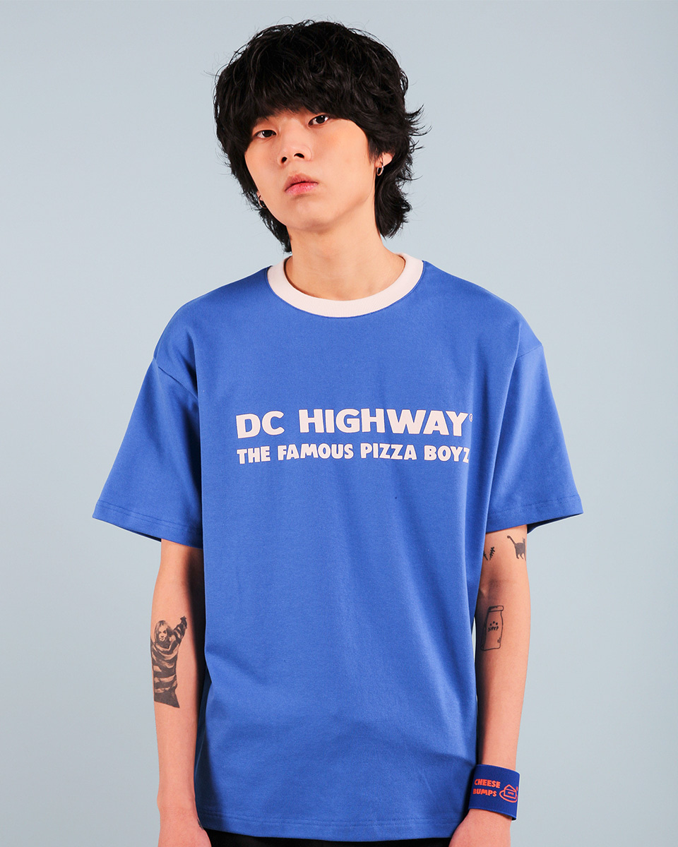 Pepperseasoning페퍼시즈닝 DC BOYZ T-SHIRT / BLUE
