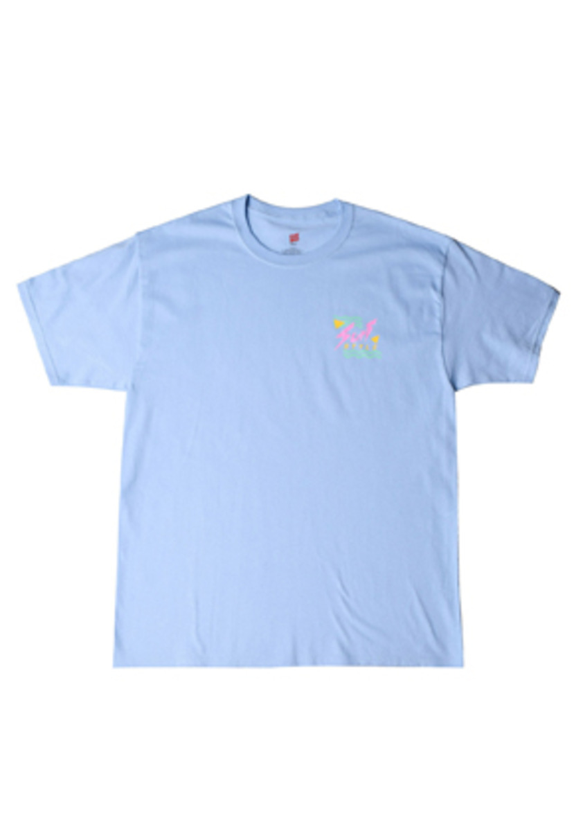 FEVER피버 90S SURF STYLE TEE (L.BLUE)