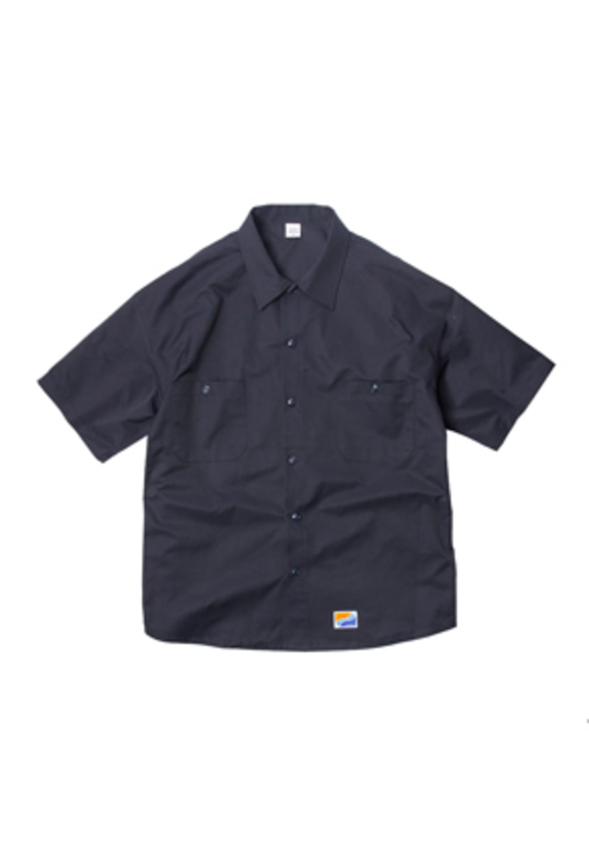 SANDPIPER샌드파이퍼 BASIC OVERSIZE SHIRTS NAVY