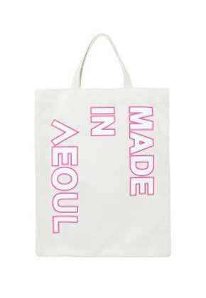 NOHANT노앙 MADE IN SEOUL ECO BAG PINK