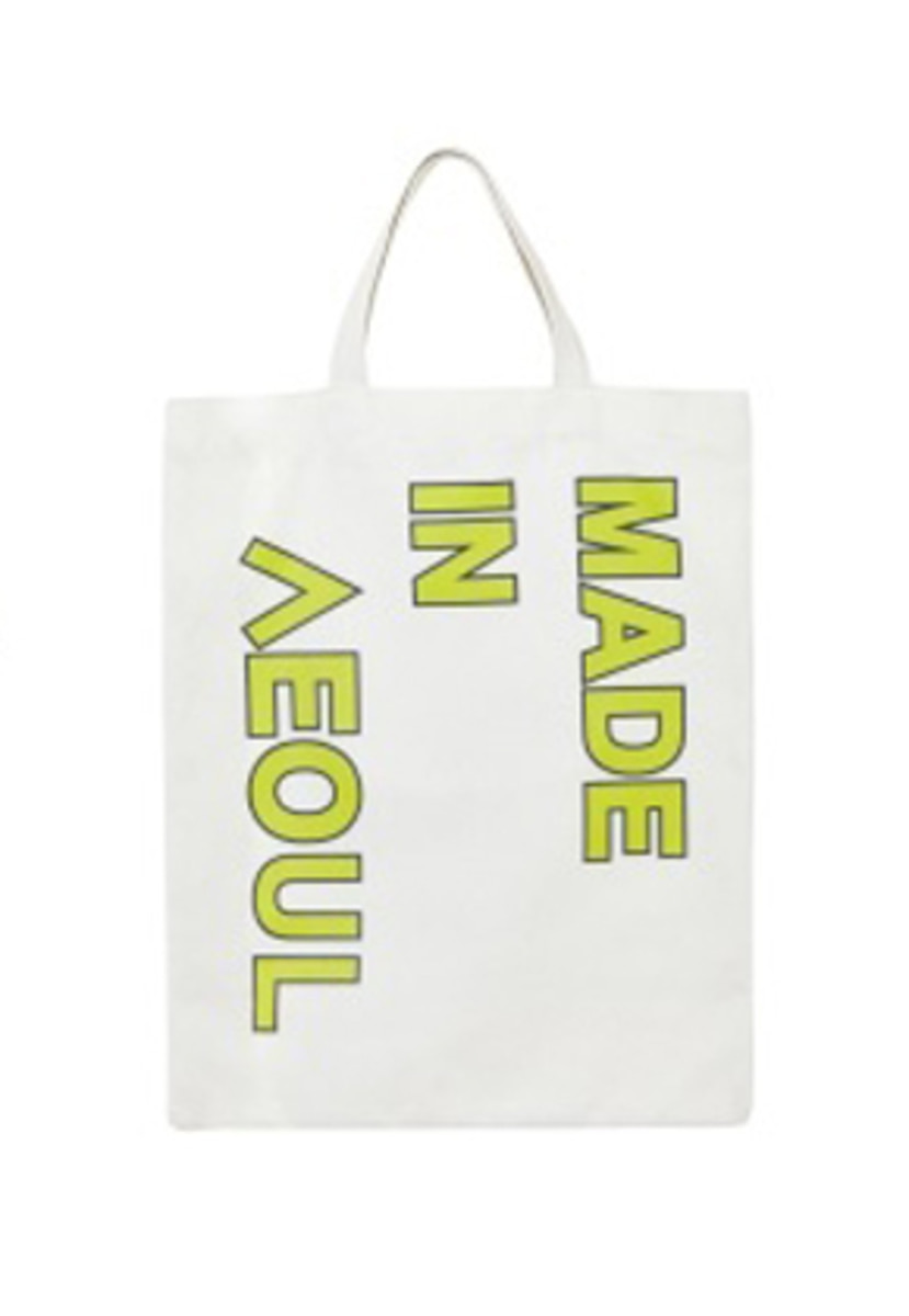 NOHANT노앙 MADE IN SEOUL ECO BAG LIME