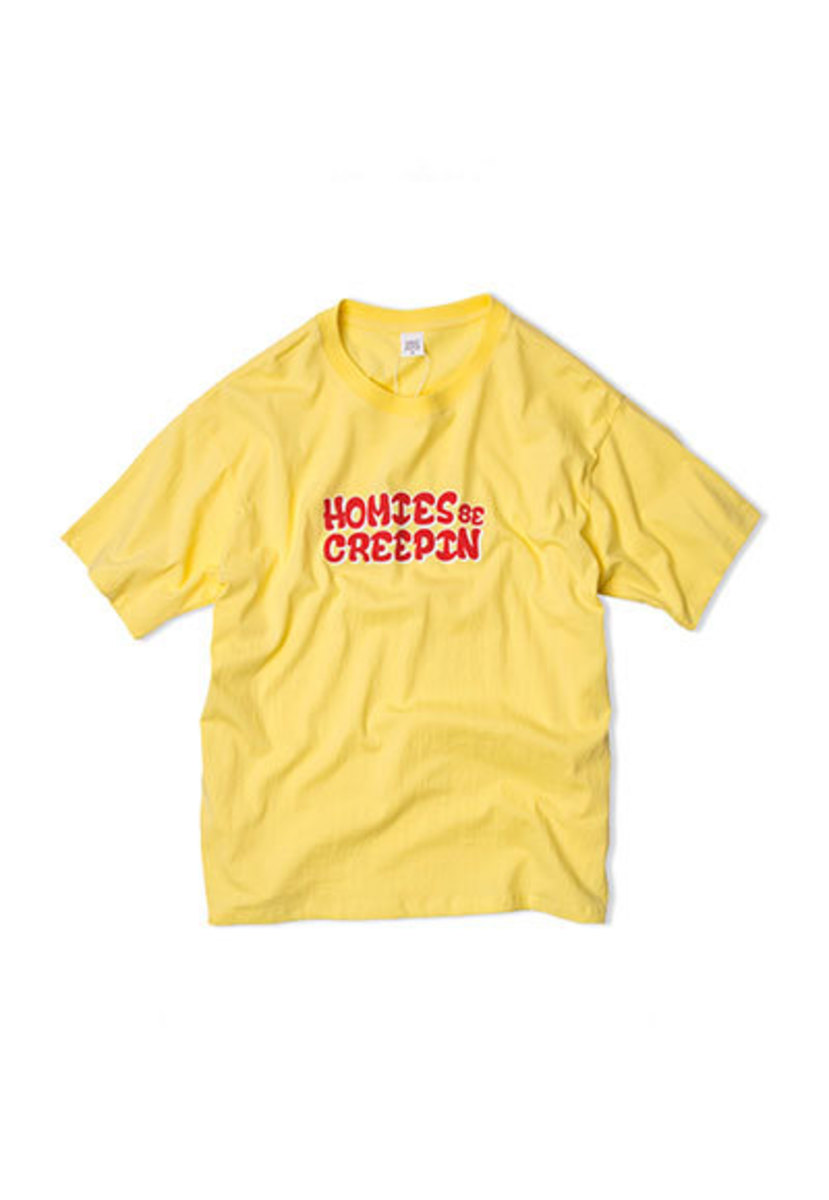 SANDPIPER샌드파이퍼 HOMIES T SHIRTS YELLOW