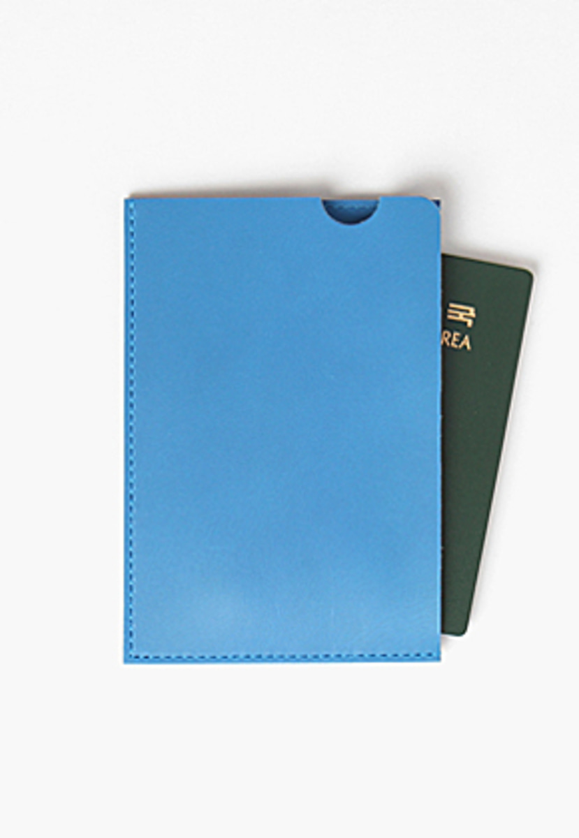 Son of Love BITE TRAVEL WALLET [BLUE]