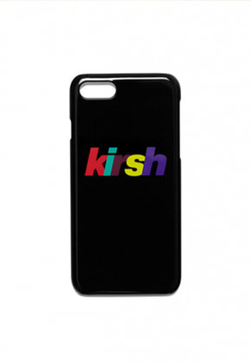 KIRSH키르시 KIRSH 키르시 RAINBOW LOGO PHONE CASE HS [BLACK]