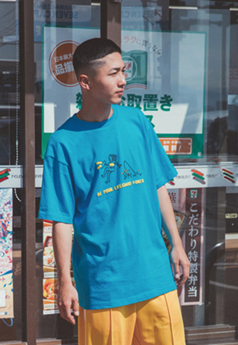 WKNDRS위캔더스 LIFEGUARD TEE (BLUE)
