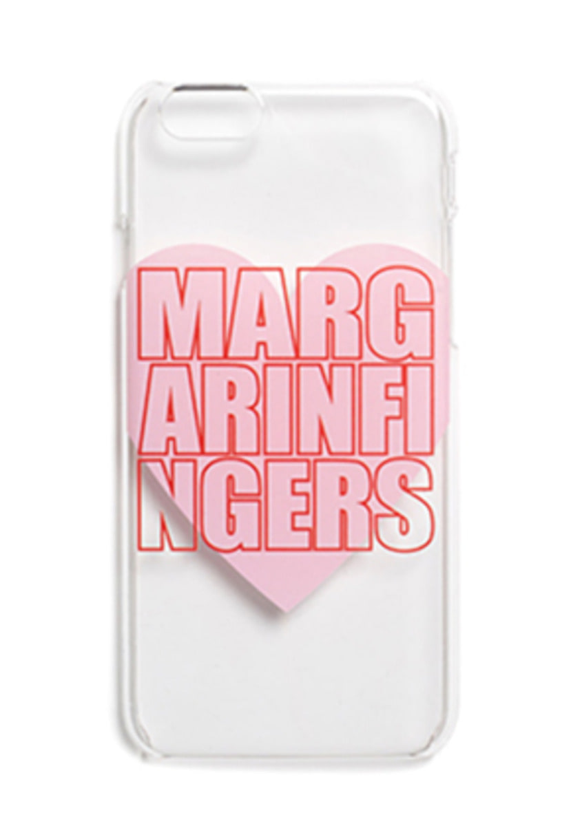 Margarin Fingers마가린핑거스 HEART LOGO CASE