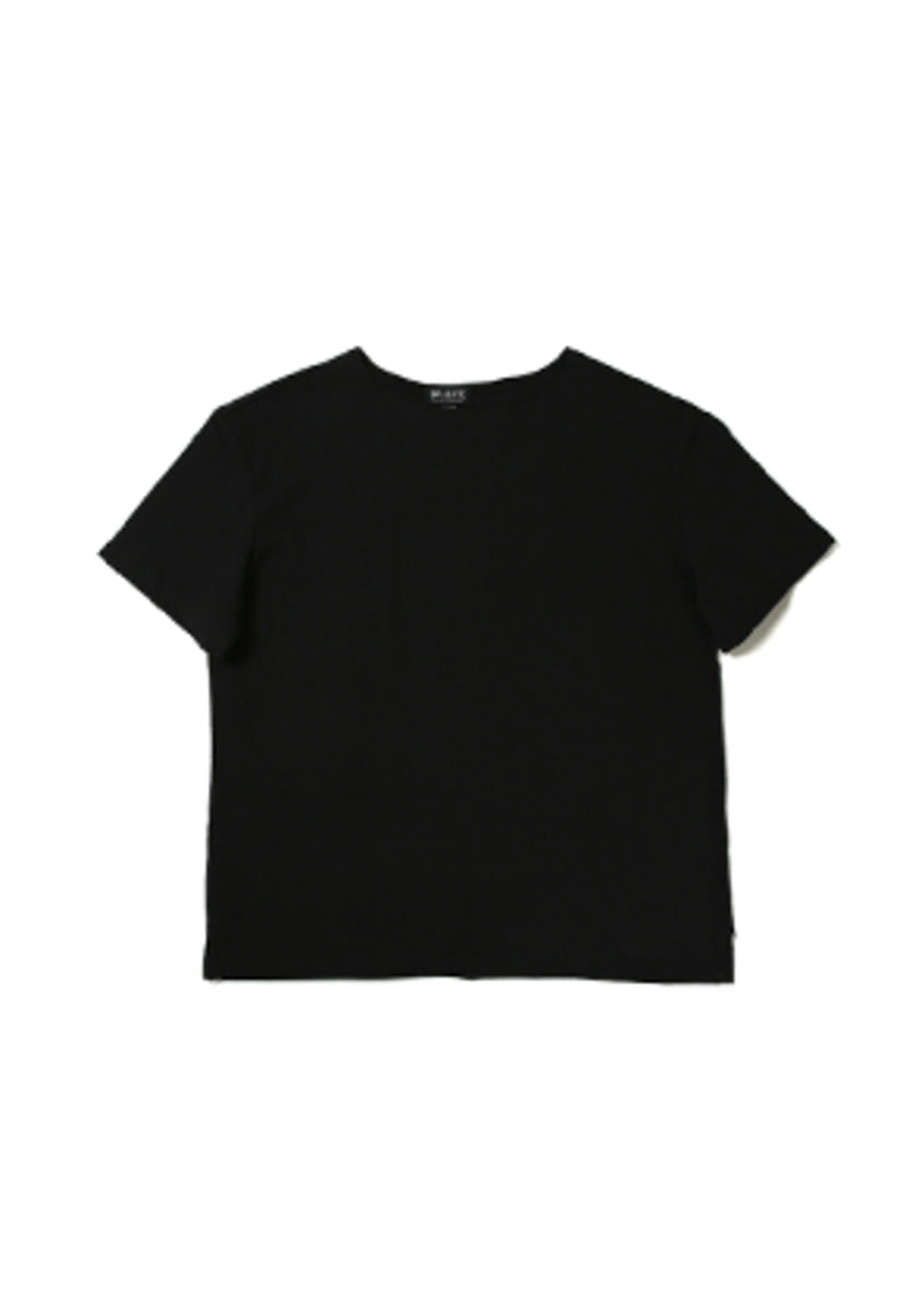 Ballute발루트 FRENCH NAVAL SHORT SLEEVES (BLACK)