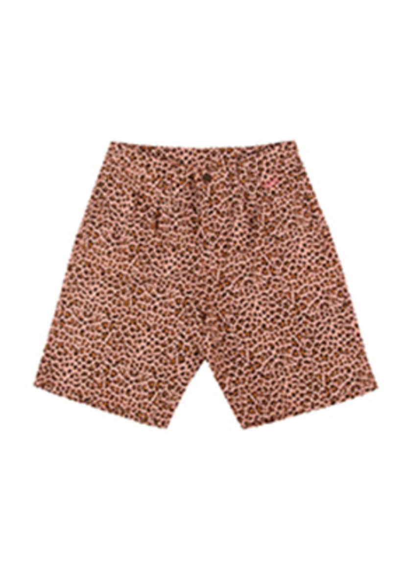 A Piece Of Cake어피스오브케이크 Leopard 1/2 Pants_Pink