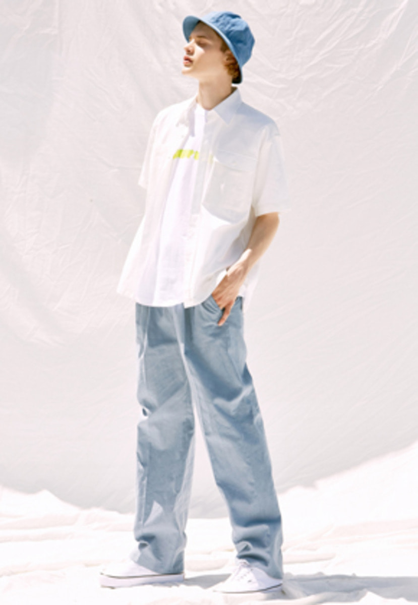 Voiebit브아빗 V240 LINEN WIDE PANTS  SKYBLUE