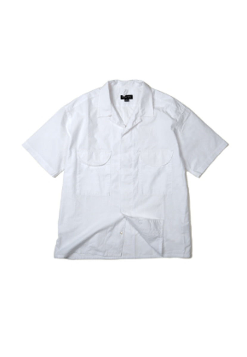 Ballute발루트 FRENCH EASY HALF SHIRT (WHITE)