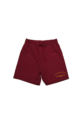 AJO BY AJO FINK LABEL ABA CH18 Shorts[Burgundy]