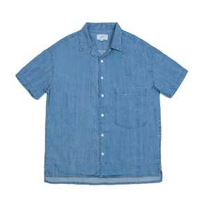 A.GLOWW에이글로우 DENIM BASIC SHIRT