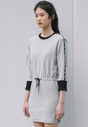 Sinoon시눈 fanni dress (grey)