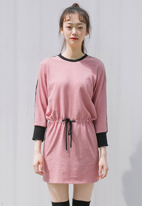 Sinoon시눈 fanni dress (red)