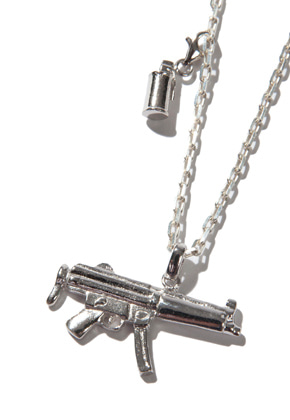 Kruchi크루치 Mp5 & M18 smoke necklace (silver)
