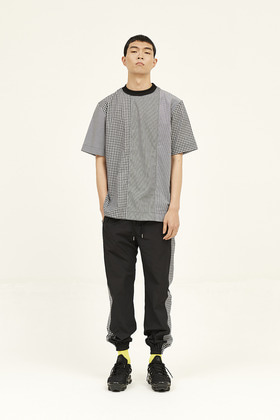 SEC세크 [Unisex] Pixelated Shirting Top _ Black
