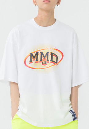 Romantic Crown로맨틱크라운 MMD Dot Logo T Shirt_White