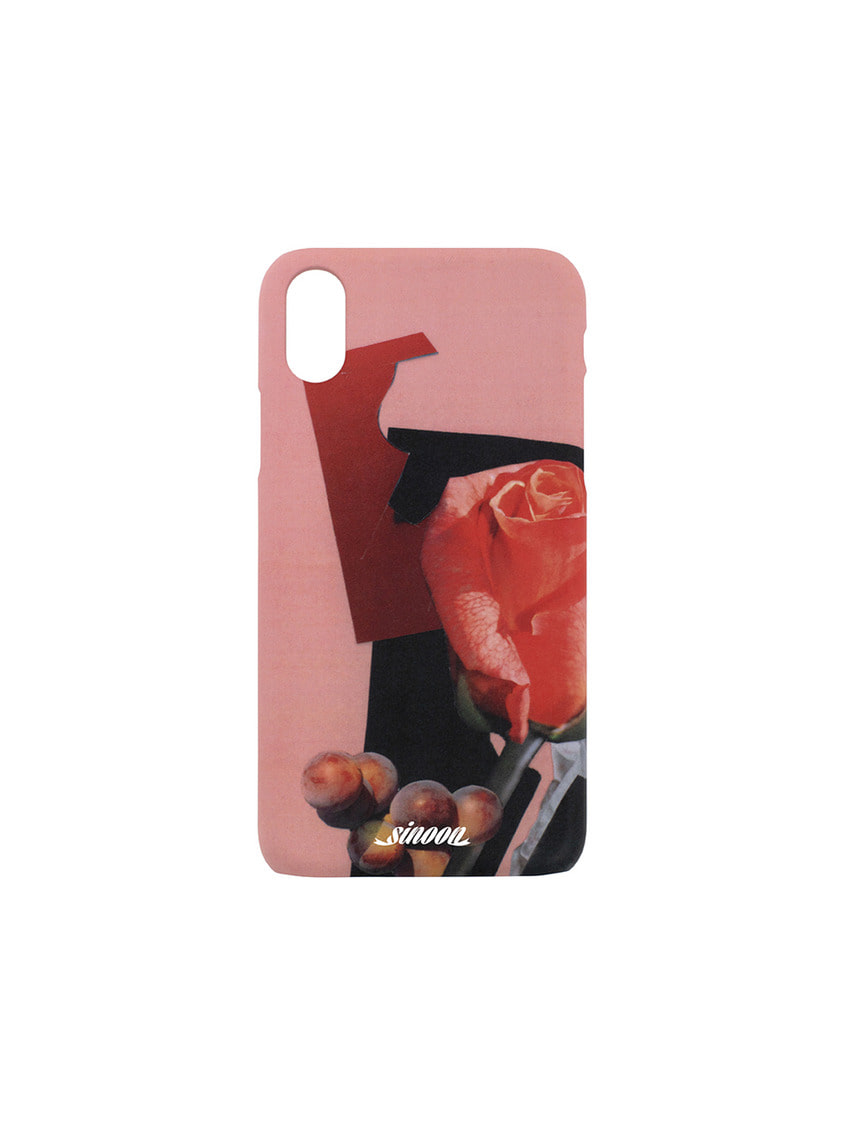 Sinoon시눈 Collage hard case (roserip)