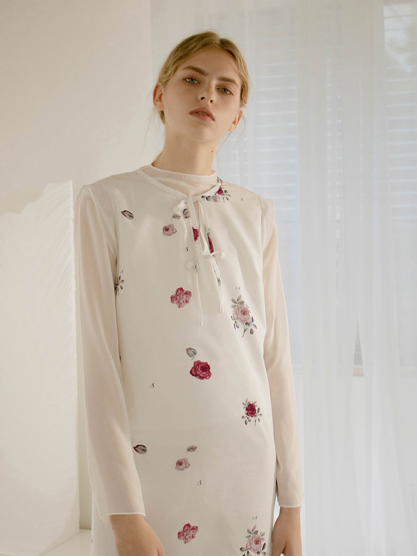 Sinoon시눈 Rose sauvage dress