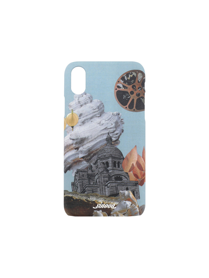 Sinoon시눈 Collage hard case (conch)