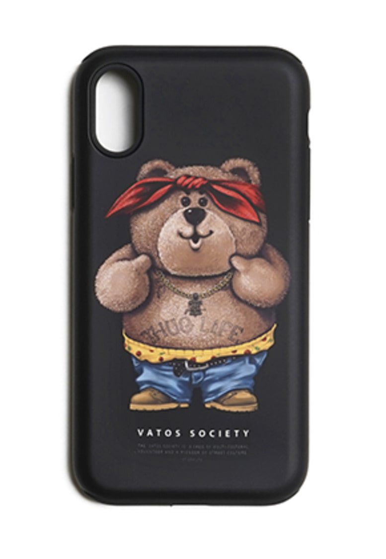 Stigma스티그마 PHONE CASE THUG BEAR BLACK iPHONE 8 / 8+ / X