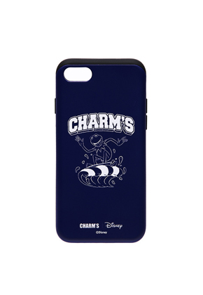Charm's참스 Surfer Kermit logo case_NV