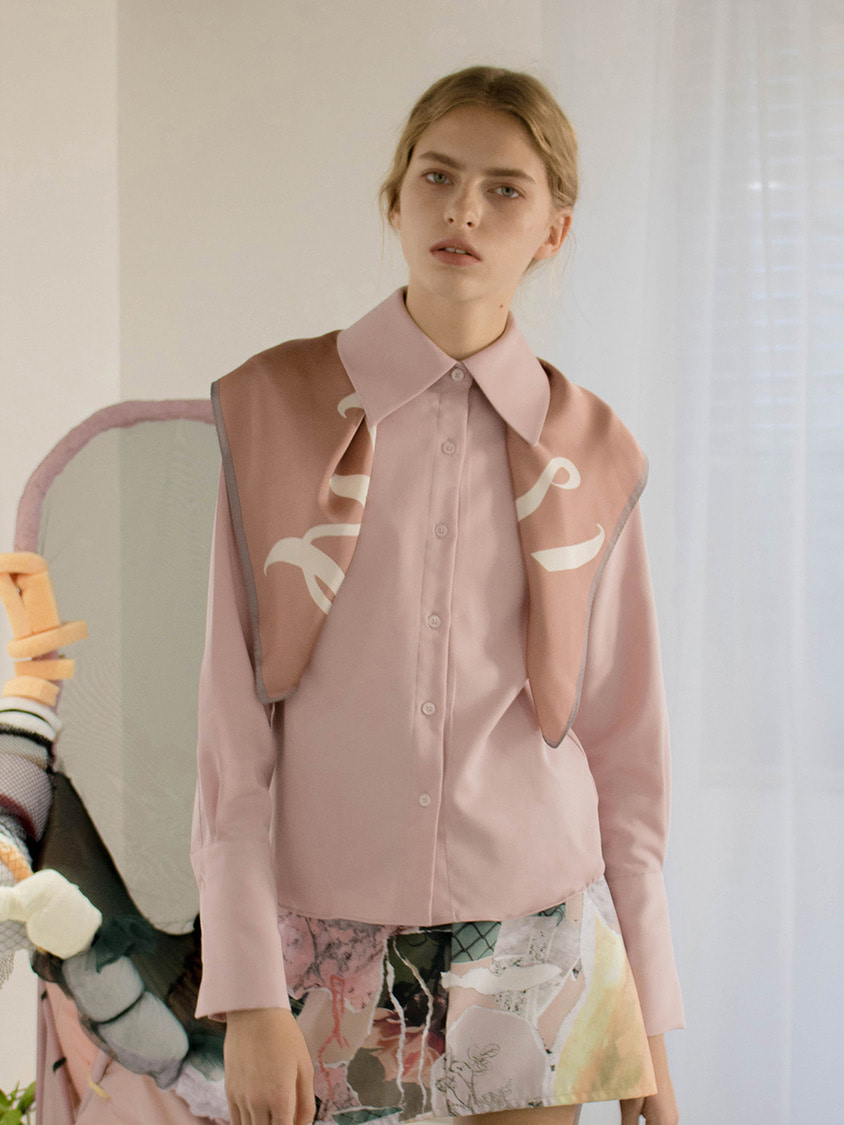 Sinoon시눈 Soap blouse (pink)