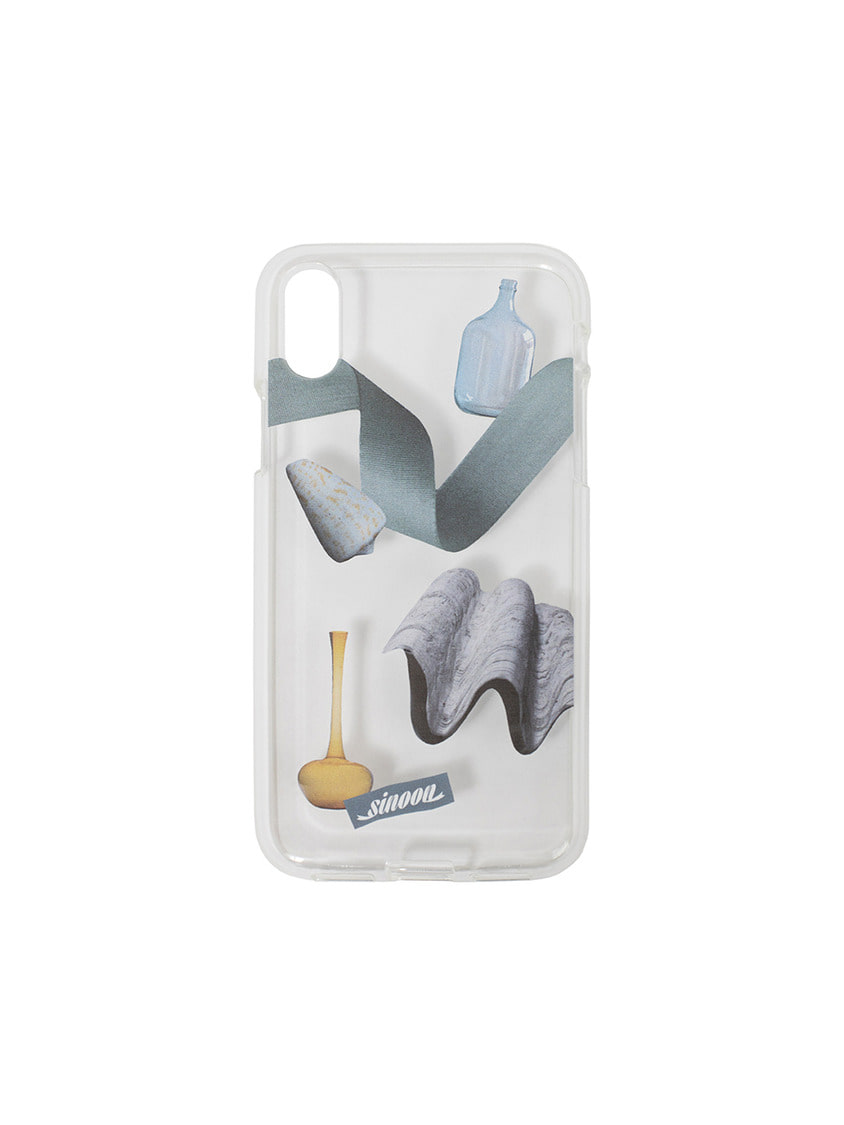 Sinoon시눈 Collage jelly case (wave)