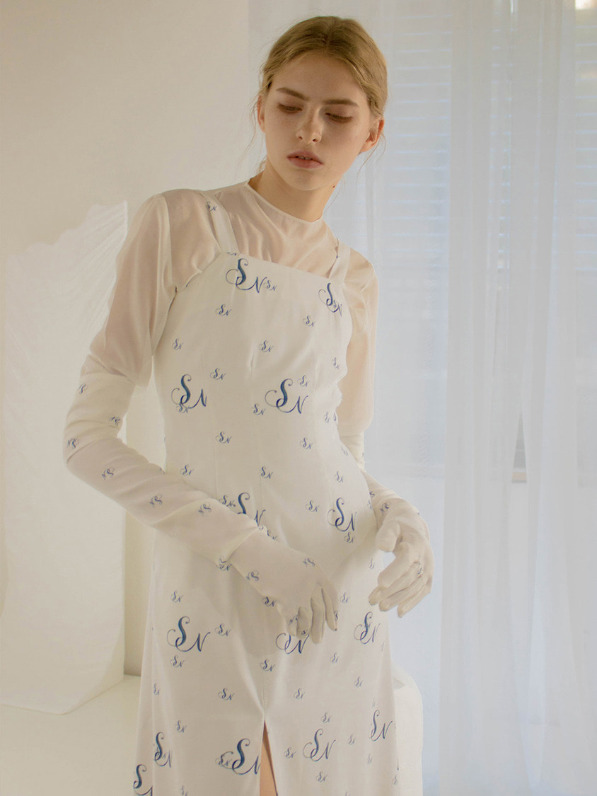 Sinoon시눈 Delia long dress (wihte)